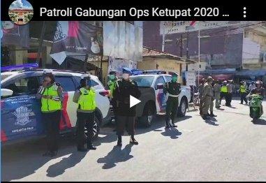 Video,  Patroli Gabungan Ops Ketupat 2020 di Belu, Turun Mengajak Masyarakat Perangi Covid-19