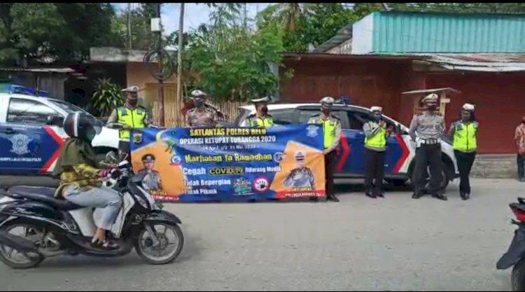 Covid-19 Kian Merebak, Simak Video Terbaru Imbauan Pencegahan oleh Sat Lantas Polres Belu untuk Warga Atambua