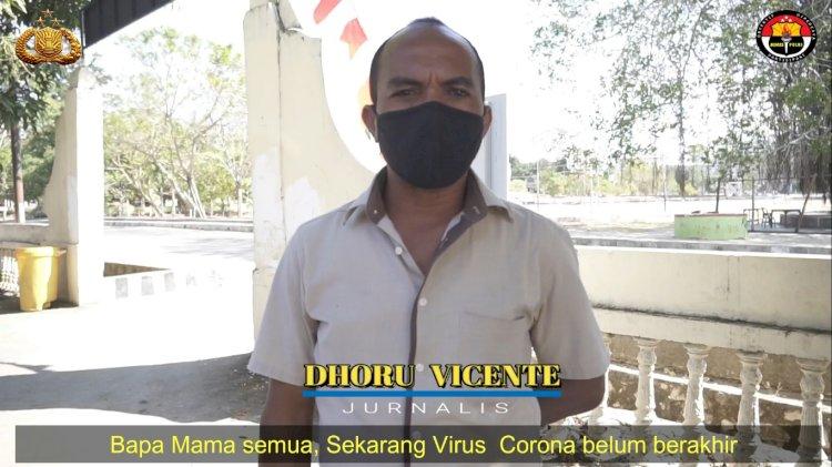Video:Pakai Bahasa Daerah, Jurnalis Pena Batas ini  Ajak Warga Patuhi Protokol Kesehatan