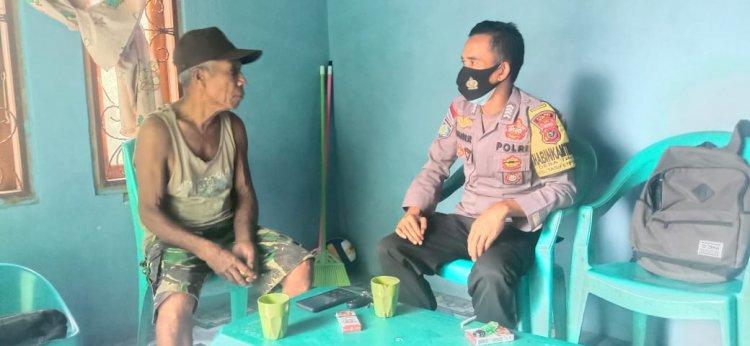 Disiplin 5 M dan Waspadai Banjir, Pesan BRIPKA Irfan Nur Saat Sambang ke Warga Binaannya