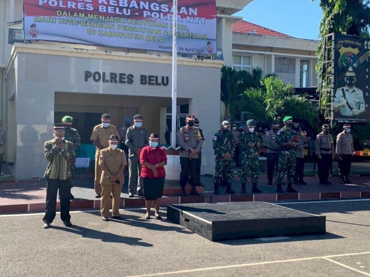 Video, Polres Belu Bersama TNI, Dan Para Tokoh Agama Gelar Doa Bersama Bagi 53 Awak KRI NANGGALA 402