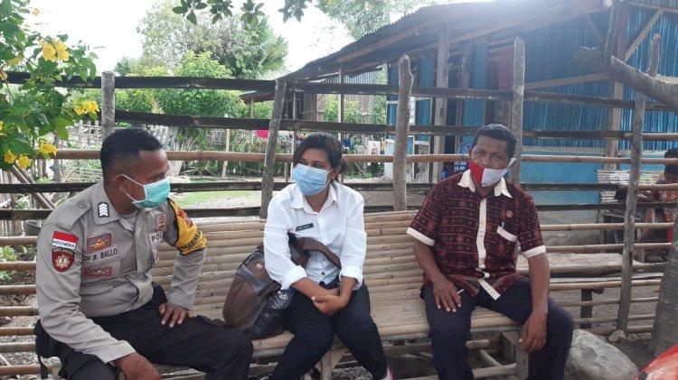 Stop Mudik agar Tidak Bawa Virus untuk Keluarga, Imbau BRIPKA Adi Ballo kepada Warga Fatuketi