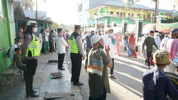 Ops Ketupat 2021, Polres Belu Turun Penuh Amankan Ibadah Sholat Idul Fitri 1442 H