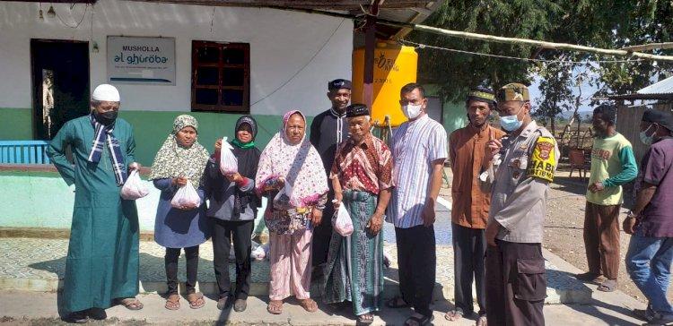 Dari Kaum Duafa hingga Mualaf, Polres Belu Salurkan Daging Kurban Tanda Berbagi di Tengah Pandemi Covid-19