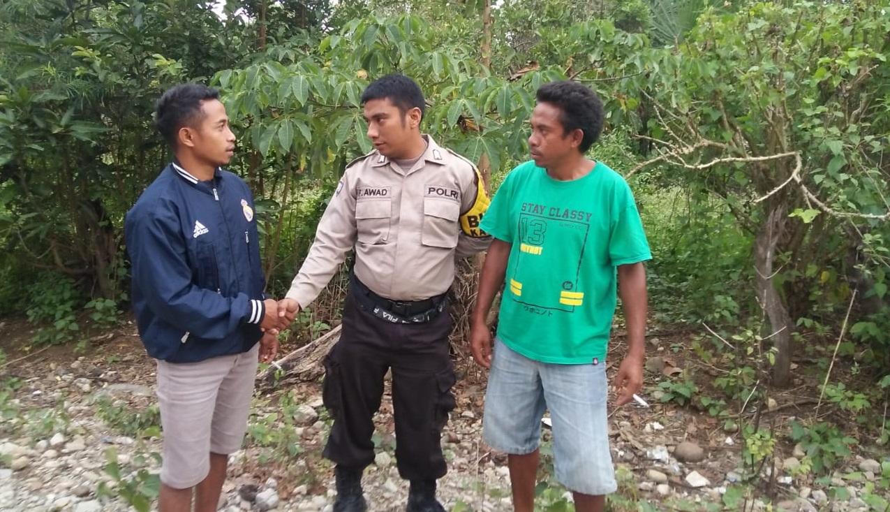 Temui Tokoh Masyarakat dan Tokoh Pemuda, BRIPKA Fadly Awad Minta Kontribusi Mereka Wujudkan Kelestarian Hutan