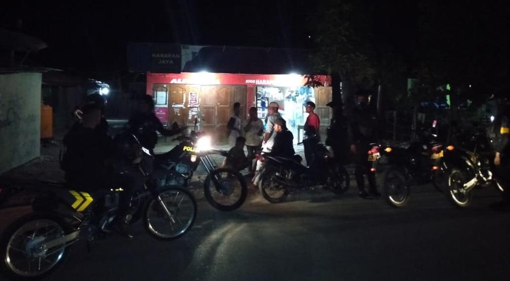 Sambil Patroli, Unit Turjawali Sabhara Polres Belu Beri Pesan Kamtibmas kepada Masyarakat